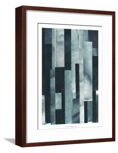 White Caps I-Grace Popp-Framed Art Print
