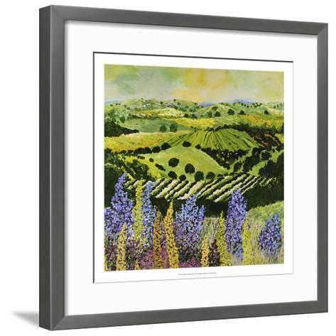 Wildflower Ridge-Allan Friedlander-Framed Art Print