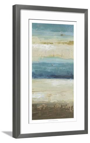 Ocean Strata IV-June Vess-Framed Art Print