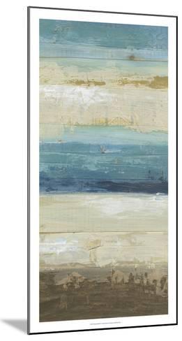 Ocean Strata IV-June Vess-Mounted Premium Giclee Print