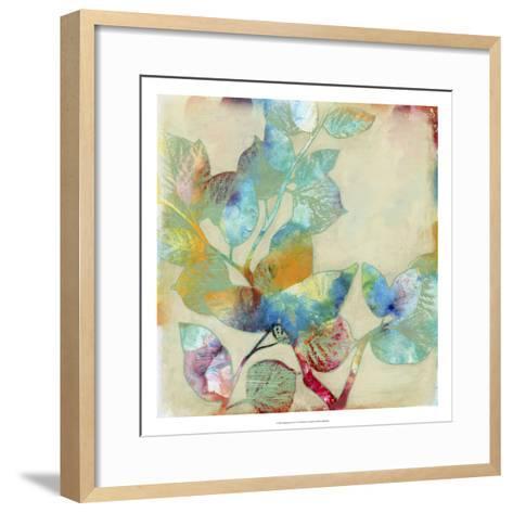 Merging Leaves I-Jennifer Goldberger-Framed Art Print