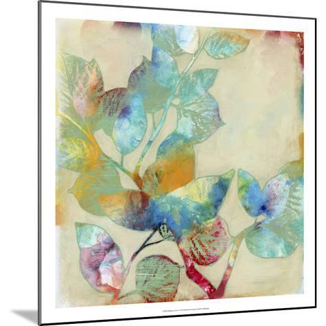 Merging Leaves I-Jennifer Goldberger-Mounted Premium Giclee Print