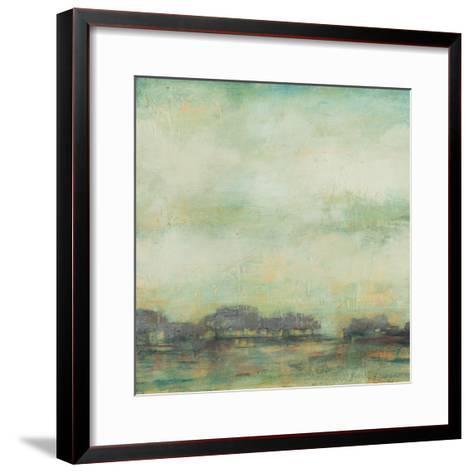 Treeline Sunrise I-Jennifer Goldberger-Framed Art Print