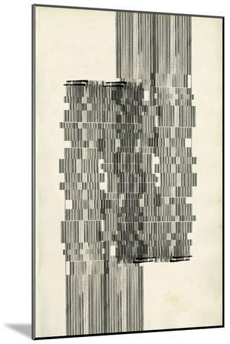 Stagger Start I-Jennifer Goldberger-Mounted Premium Giclee Print