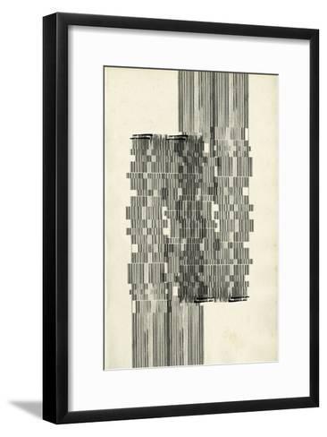 Stagger Start I-Jennifer Goldberger-Framed Art Print