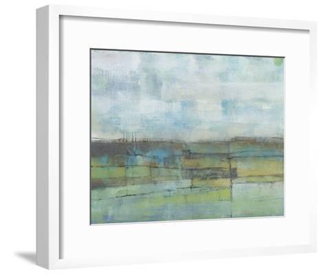 Tiered Farmland I-Jennifer Goldberger-Framed Art Print