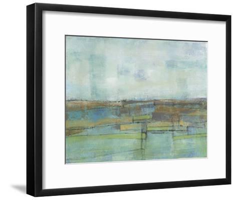 Tiered Farmland II-Jennifer Goldberger-Framed Art Print