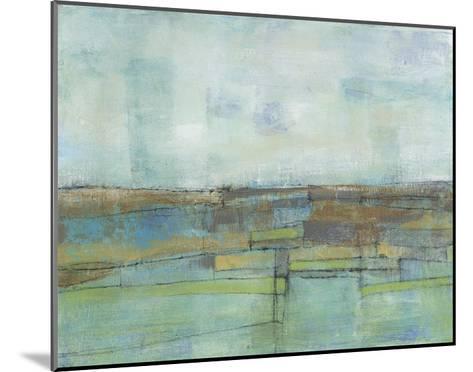 Tiered Farmland II-Jennifer Goldberger-Mounted Premium Giclee Print