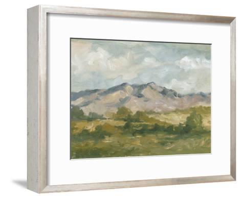 Impasto Landscape I-Ethan Harper-Framed Art Print