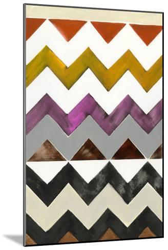 Santa Fe I-Jodi Fuchs-Mounted Premium Giclee Print