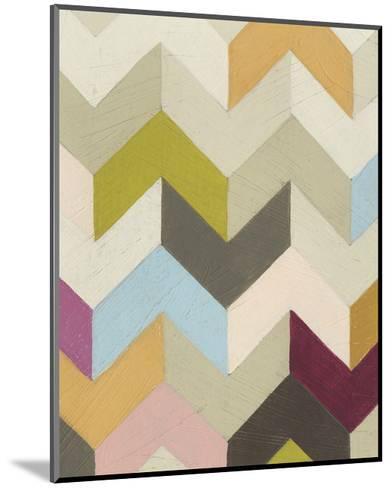 Confetti I-June Vess-Mounted Premium Giclee Print