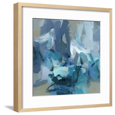Charlotte Blue-Christina Long-Framed Art Print