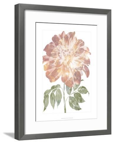 Watercolor Bloom II-Jennifer Goldberger-Framed Art Print