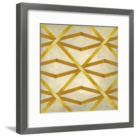 Woven Symmetry II-Chariklia Zarris-Framed Art Print