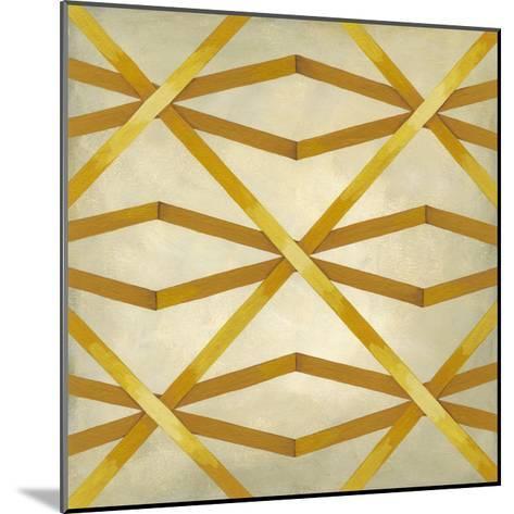 Woven Symmetry II-Chariklia Zarris-Mounted Premium Giclee Print