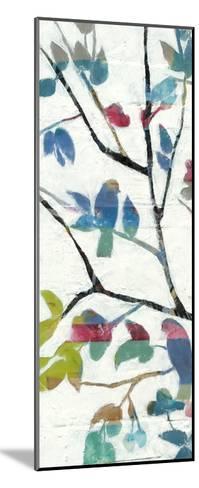 Woodland Story III-Jennifer Goldberger-Mounted Premium Giclee Print
