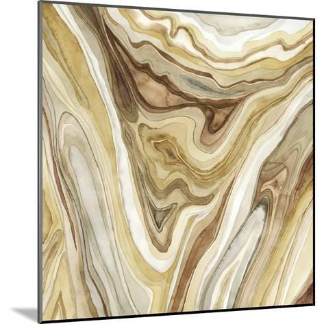 Watercolor Agate I-Megan Meagher-Mounted Premium Giclee Print