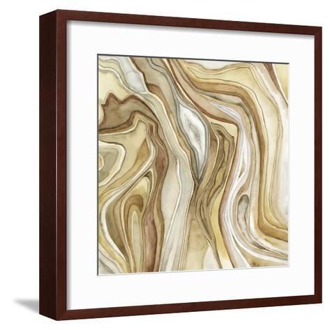 Watercolor Agate II-Megan Meagher-Framed Art Print