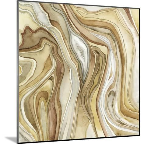 Watercolor Agate II-Megan Meagher-Mounted Premium Giclee Print