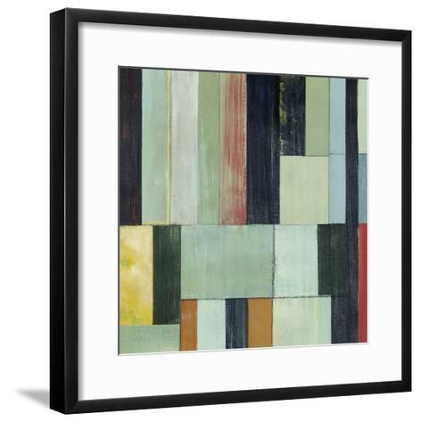 Geometric Conglomeration I-Grace Popp-Framed Art Print