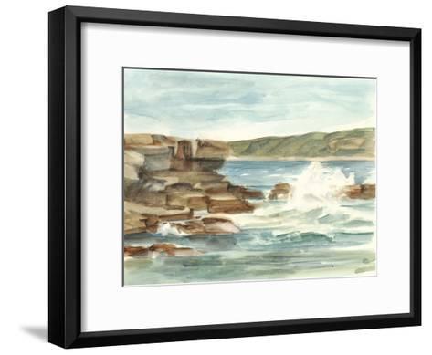 Coastal Watercolor III-Ethan Harper-Framed Art Print