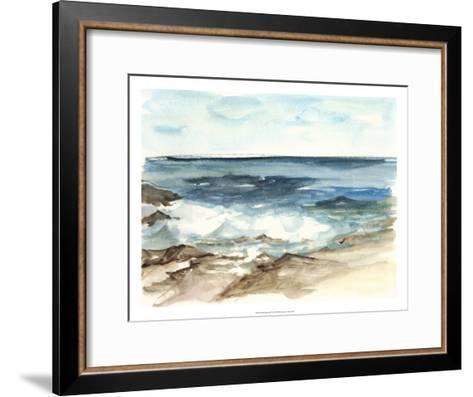Coastal Watercolor V-Ethan Harper-Framed Art Print
