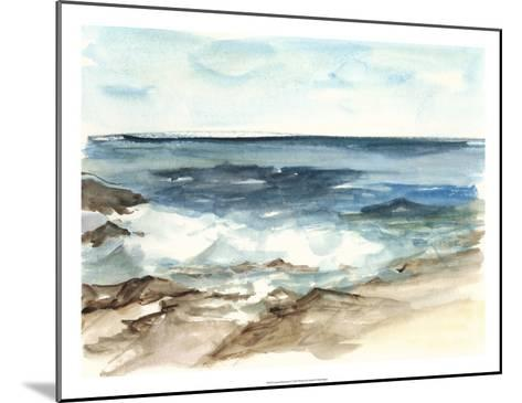 Coastal Watercolor V-Ethan Harper-Mounted Premium Giclee Print