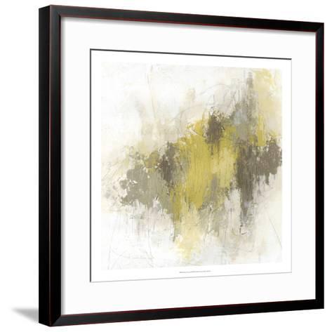 Saffron Abstract I-June Vess-Framed Art Print