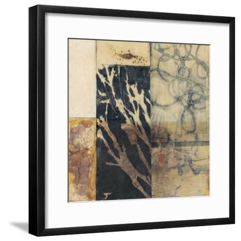 Indigo Layers I-Jennifer Goldberger-Framed Art Print