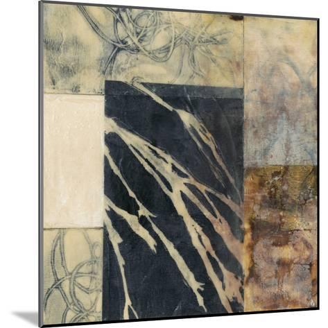 Indigo Layers II-Jennifer Goldberger-Mounted Premium Giclee Print