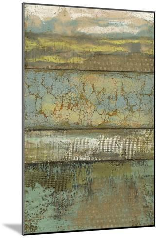 Segmented Textures I-Jennifer Goldberger-Mounted Premium Giclee Print