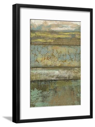Segmented Textures I-Jennifer Goldberger-Framed Art Print