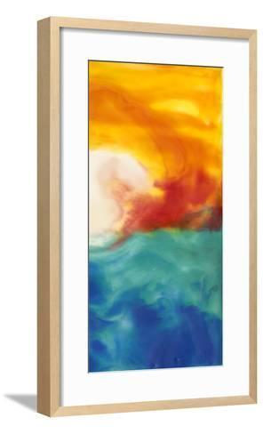 Marsh Sunrise II-Alicia Ludwig-Framed Art Print