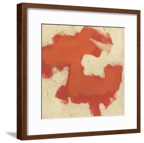 Gestural I-June Vess-Framed Art Print