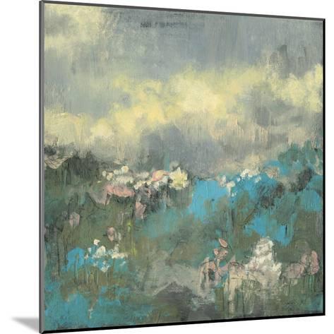 Painterly Field I-Jennifer Goldberger-Mounted Premium Giclee Print
