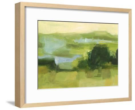 Emerald Wetlands I-Ethan Harper-Framed Art Print