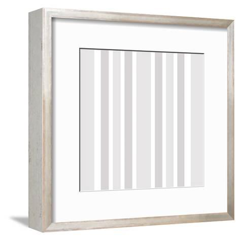 Night In Paris Pattern-Kimberly Allen-Framed Art Print