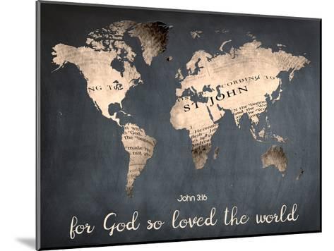 For God So Loved The World-Sheldon Lewis-Mounted Art Print
