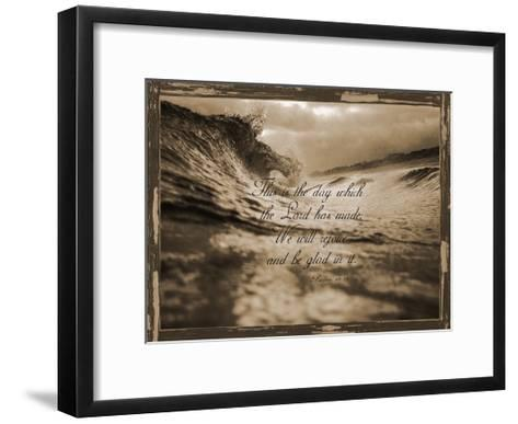 Psalms 118-24-Sheldon Lewis-Framed Art Print