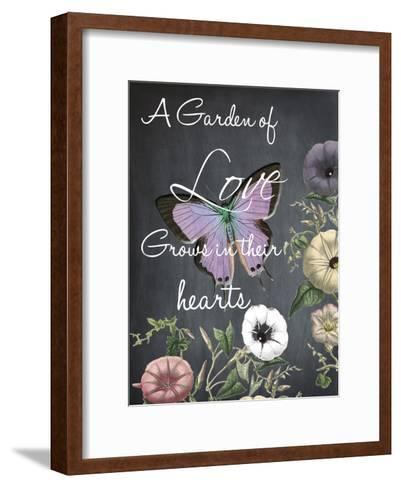 A Garden Of Love-Sheldon Lewis-Framed Art Print