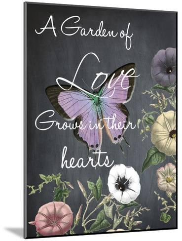 A Garden Of Love-Sheldon Lewis-Mounted Art Print