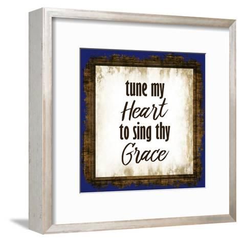 Tune My Heart-Kimberly Allen-Framed Art Print