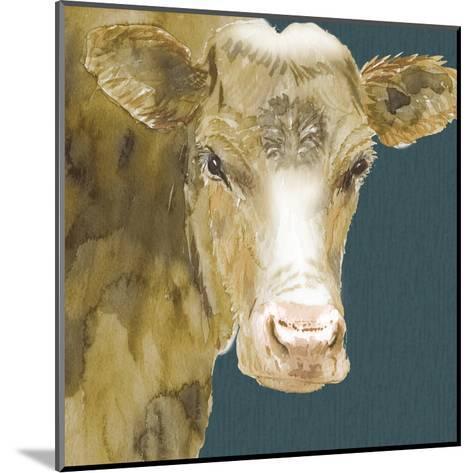 Hogans Brown Cow-Beverly Dyer-Mounted Art Print