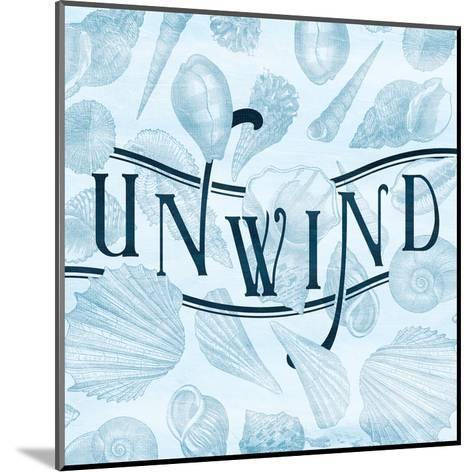Unwind Shells-Jace Grey-Mounted Art Print