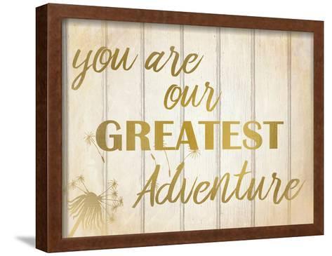Greatest Adventure-Kimberly Allen-Framed Art Print
