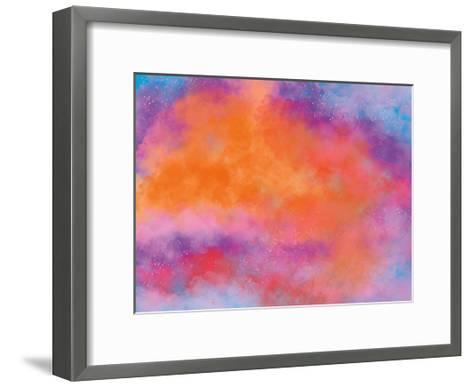 Stellar Aura-Marcus Prime-Framed Art Print