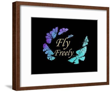 Fly Freely-Sheldon Lewis-Framed Art Print