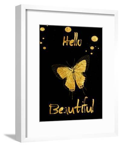 Hello-Sheldon Lewis-Framed Art Print