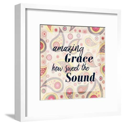 Amazing Grace Paisley-Kimberly Allen-Framed Art Print