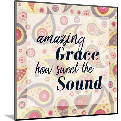 Amazing Grace Paisley-Kimberly Allen-Mounted Art Print